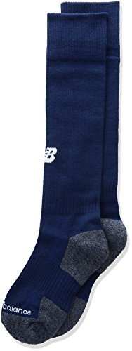 New Balance Kids Over The Calf for All Sports Socks 1 Pair, M 9-12.5 / W 10-12, Navy