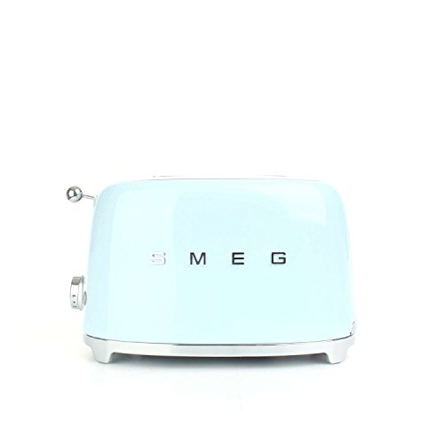 Smeg Toaster 2 Scheiben 50er Jahre Blau