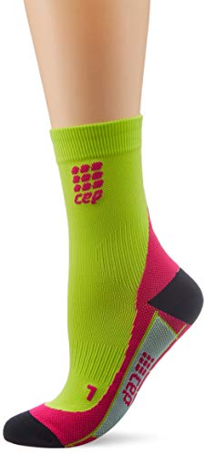 CEP Damen Socken Dynamic Short Socks, grün, 4, WP4BZ0