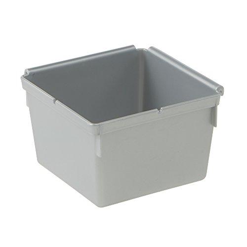keeeper Ordnungssystem 8x8, Polypropylen, Silber, 8 x 8 x 5 cm