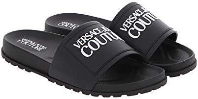 Versace Jeans Couture Black Contemporary Logo Slide 11 for Mens product image