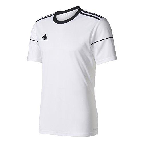 Adidas Football App Generic, Jersey Short Sleeve Unisex Bambini, Bianco nero, 13-14 anni (164 cm)