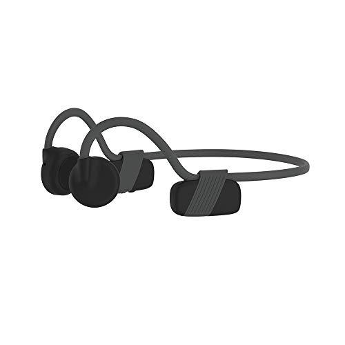 XIANGHUI Auriculares Deportivos Inalambricos con Bluetooth 5.0, Tecnología de Conduccion Osea, Diseño Open-Ear, Resistente al Polvo y al Agua IP6 para Correr, Ciclismo