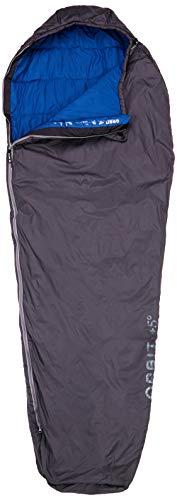 Deuter Unisex-Adult Orbit + 5° Zip-Right Schlafsack, Granite-Steel, One Size