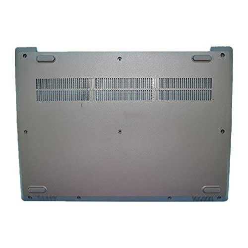 fqparts Cubierta Inferior de la Caja del Ordenador portátil D Shell para Lenovo ideapad S145-15API S145-15AST S145-15IGM S145-15IIL S145-15IKB S145-15IWL Color Negro