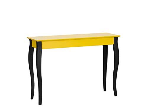 Ragaba LILLO Schmal Konsolentisch Wandtisch Sideboard Telefontisch aus FSC® mit Schwarze Beine - 105 x 35 x 74cm - 8 Farben