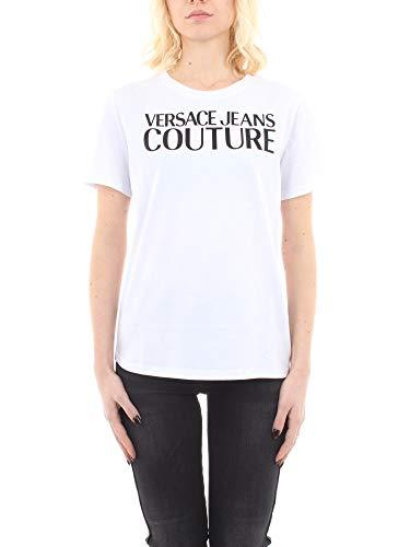 Versace Jeans Lady T-Shirt/White UDP613 T-Shirts & Poloshirts Damen Weiss - L - T-Shirts