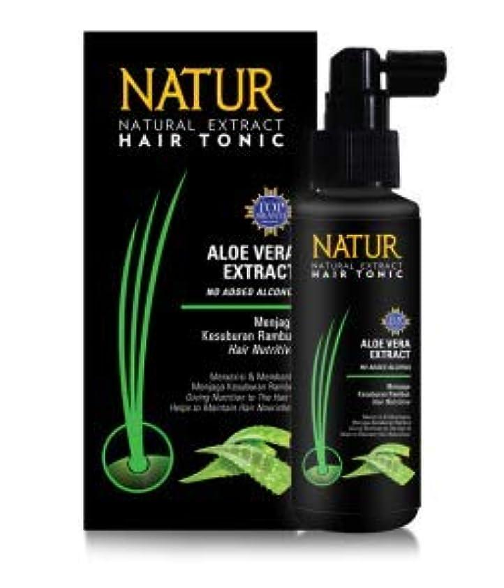 更新する隔離やるNATUR ナトゥール 天然植物エキス配合 Hair Tonic ハーバルヘアトニック 90ml Aloe vera アロエベラ [海外直商品]
