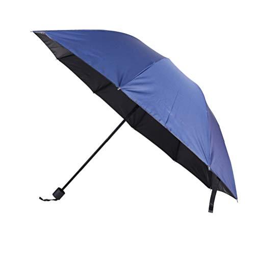 ZHANGYY Auto Straight Umbrella Leichter Reiseschirm Winddichter und verstärkter Baldachin Ergonomischer Griff Kompakter und langlebiger Leichter und schöner Reiseschirm