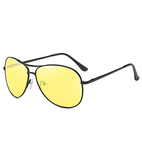 NJJX Gafas De Sol Polarizadas Sombras Hombres Mujeres Moda Gafas De Sol Gafas Retro 07