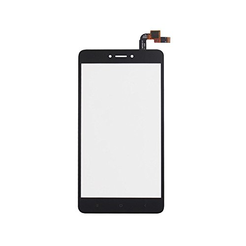 JayTong Digitizer Touch Screen Outer Screen Glass Replacement with Free Tools for Xiaomi Redmi Note 4X / Note 4 Global Version Qualcomm Snapdragon 625 (Not LCD Display) Black