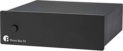 "Pro-Ject Phono Box S2, ""Best Buy"" MM/MC Phono Vorverstärker (Schwarz)"