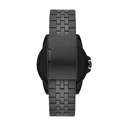 Fossil Gen 5E - Reloj inteligente con pantalla táctil de 1.732 pulgadas de acero inoxidable con altavoz, frecuencia cardíaca, pagos sin contacto y notificaciones de smartphones