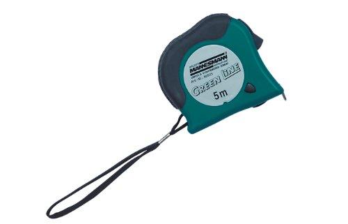Mannesmann Bandmass 5 m x 19 mm, Gehäuse grün/schwarz, M80505