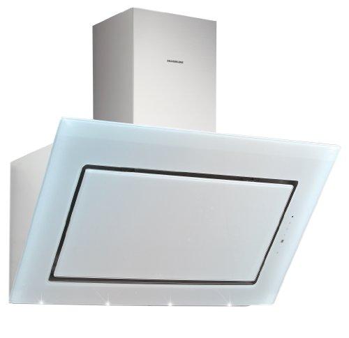 Silverline Pegasus Premium Wandmontage weiß 900 m³/h, Edelstahlfilter (900 m³/h, LED/005008 39 dB, 45 cm, Wandmontage, 65 cm)