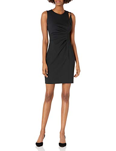Elie Tahari Women's Clarette Dress, Black, 8