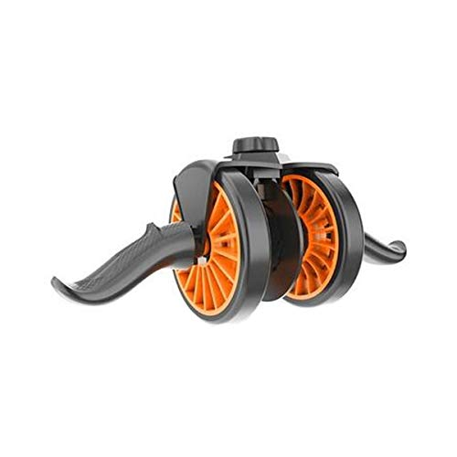 Find Bargain Chengjinxiang Fitness Roller, PU Wheel Rebounding Abdominal Wheel Brake Protection Whee...