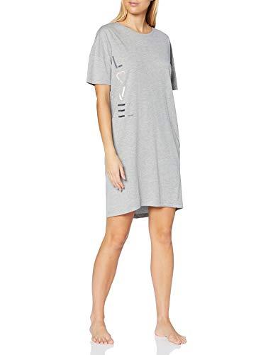 ESPRIT Bodywear Damen GOLDAH CAS NW Nightshirt Nachthemd, 040, 38