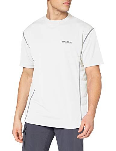 North 56-4 99215 T-Shirt, Blanc (0000), XXL Homme