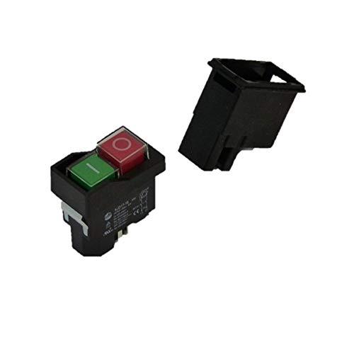 BUZE Orginal KEDU KJD17 Schalter 230V, Thermoschalter Anschluss, Unterspannungsauslöser