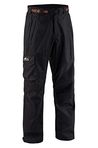 Grunden's Men's Gage Weather Watch Trouser, Black, X-Large