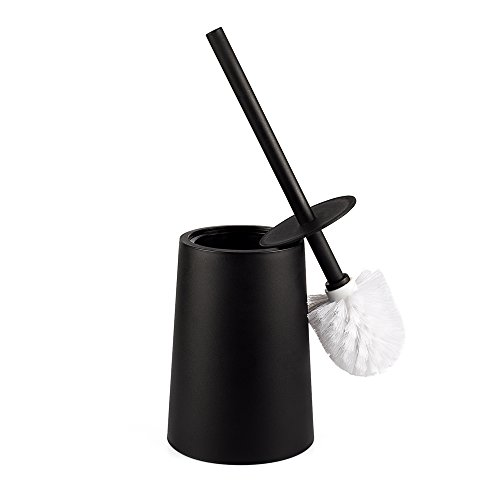 Santrue Scopino Per WC, Scopini e porta scopini, Scopini Bagno Scopino Bagno WC Design Scopino WC in Plastica Neri Per i Bagni