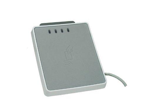 SDI uTrust 4701 F - Dual Interface SmartCard Reader - liest kontaktlose und kontaktbehaftete Chipkarten/HBCI Banking/Sicherheitszutritt/NPA