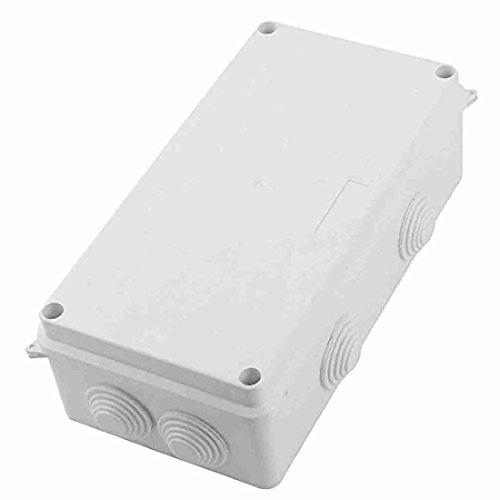 Wasserdichte Anschlussdose - TOOGOO(R) ABS IP65 wasserdicht Abzweigkasten Abzweigdose 26 mm Loch 8 Kabel 200x100x70 Mm