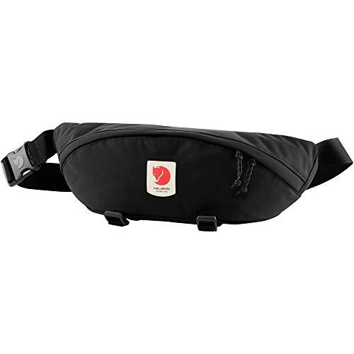 Fjallraven 23166 Ulvö Hip Pack Large Sports Backpack Unisex-Adult Black One Size
