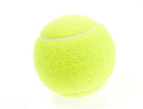 Ogquaton Premium-Tennisball Praxis Harte Art hohe Elastizität Training Hobby Tennis Pet Play Gummi Anti-Reibung Harte Art Tennisball drucklos 1 Stück Praktisch