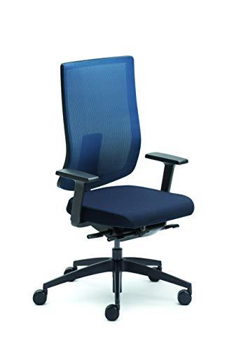Sedus se:do Bürostuhl, Drehstuhl, Designstuhl, Schreibtischstuhl Blau, teilzerlegt