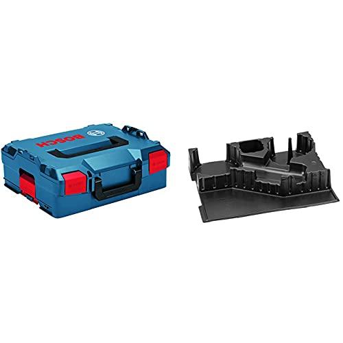 Bosch Professional Koffersystem L-BOXX 136 (Ladevolumen: 14,7 Liter, max. Belastung: 25 kg, Gewicht: 1,9 kg) & Einlage GWS 9-115/GWS 12-125 CIE/15-125 CIE/15-125 Inox Professional