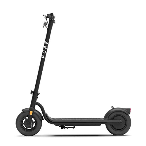 Pure Air Electric Scooter with Puncture Prevention Fluid, Waterproof...