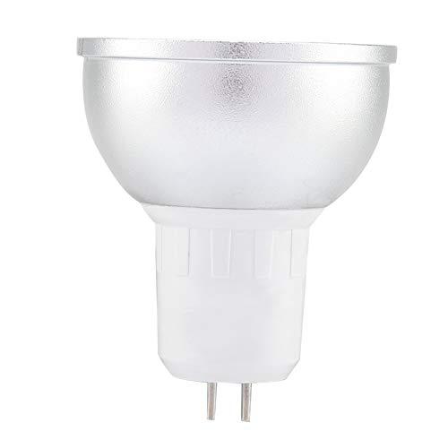 Bombilla de luz LED EVTSCAN, taza de lámpara Wifi de 6w Rgbw soporte de luz LED regulable de 16 millones de colores compatible con Alexa Google Home(RGBW GU5.3)