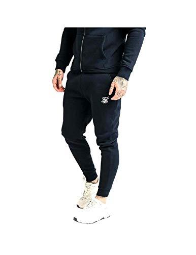 Sik Silk Pantalón Muscle Fit Azul M