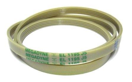 SoloCorreas Megadyne - Correa de Lavadora EL 1195 J5: Amazon.es: Hogar