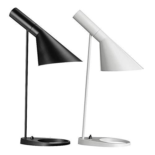 Lámpara de escritorio LED Lámpara LED de escritorio enchufable, lámpara de mesa de protección for los ojos, estudiante universitario de escritorio Dormitorio moderno simple junto a la cama Luz nocturn