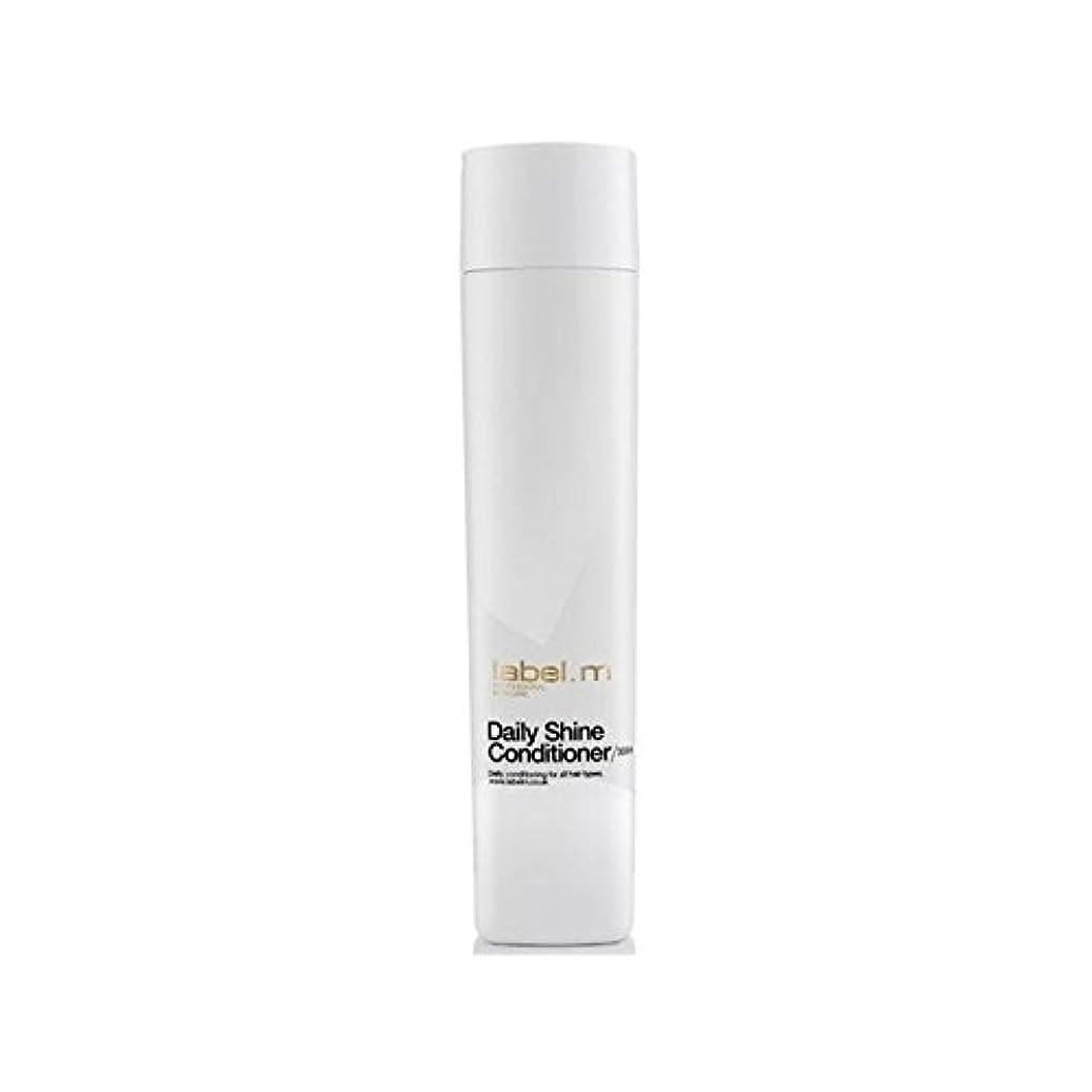 堂々たるスポーツ刺すLabel.M Daily Shine Conditioner (300ml) (Pack of 6) - .毎日シャインコンディショナー(300ミリリットル) x6 [並行輸入品]