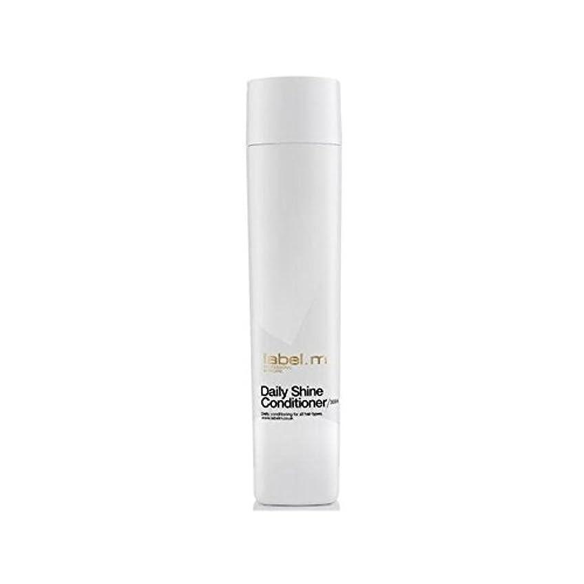 人工的な頑張る電圧Label.M Daily Shine Conditioner (300ml) - .毎日シャインコンディショナー(300ミリリットル) [並行輸入品]