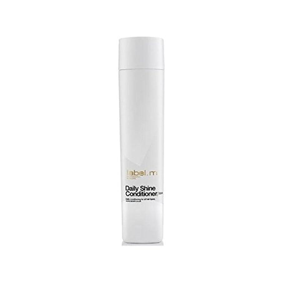 勘違いするメガロポリス統計Label.M Daily Shine Conditioner (300ml) (Pack of 6) - .毎日シャインコンディショナー(300ミリリットル) x6 [並行輸入品]