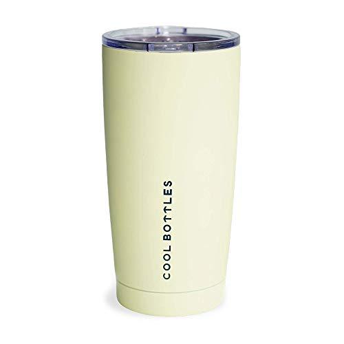 Cool Bottles Vaso Térmico de Acero Inoxidable | 550 ml | Vaso Térmico | Termo Café para Llevar | Vaso con Tapa para...