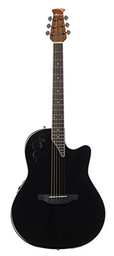 Ovation Applause E-Akustikgitarre AE44II-5 mid Cutaway black