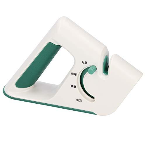 Gmkjh Afilador de Tijeras, afilador de Cuchillos Multifuncional 4 en 1, Herramienta de Afilado de Cuchillos de Cocina para el hogar