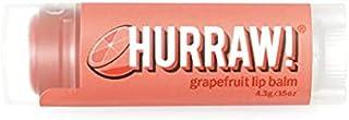 Hurraw Grapefruit Lip Balm, 4.3 g
