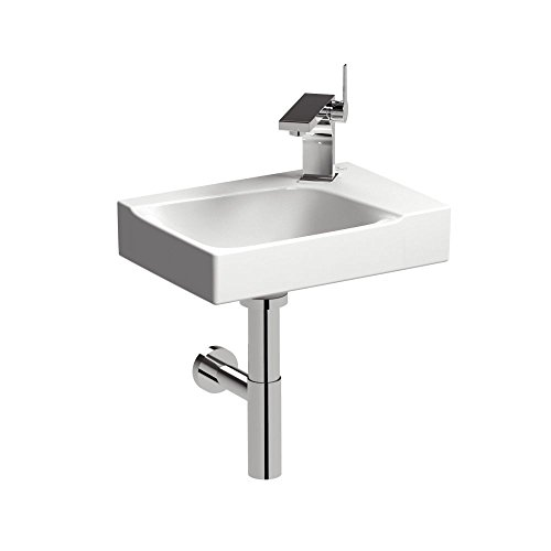 Keramag Handwaschbecken XENO² 400x280mm, m Hahnloch rechts weiß