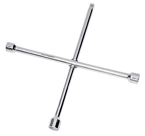 KRAFTWERK 2585-34 - Llave ruedas cruz 24x27x32 mm x 3/4 pulgada