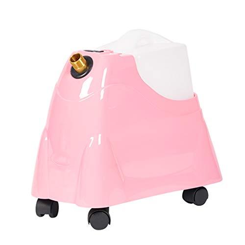 Meen Dampfglätter, hängendes Gewebe mit hoher Kapazität und Garment Steamer Compact Hassle Free Ironing für Zuhause E8-T688 (Farbe : Pink, größe : B)