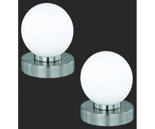 2er - Set R5400-01 Tischleuchte Nachttischleuchte Lampe Touch - Me Funktion dimmbar