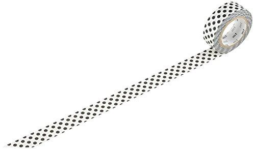 MT DOT Moegi Washi tape roll, colore: Nero