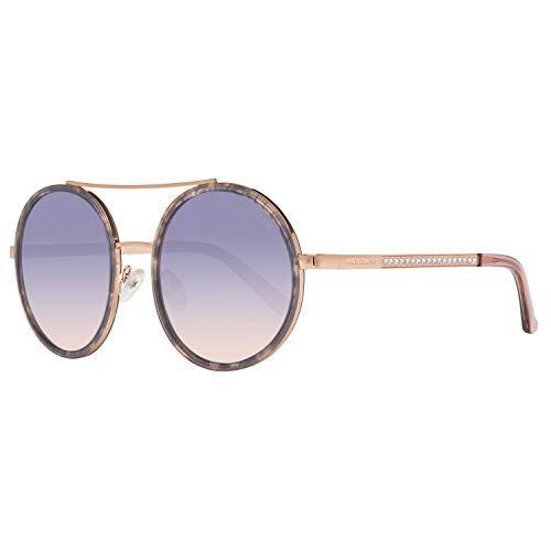 Guess by Marciano Sonnenbrille Gm0780 83Z 55 Gafas de sol, Morado (Violeta), 55.0 para Mujer